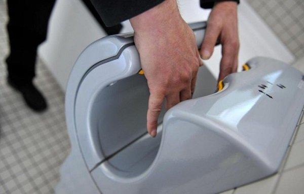 электрическая сушилка для рук
