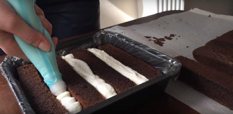 шахматный торт рецепт
