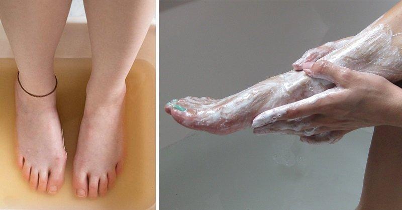 сода для ног