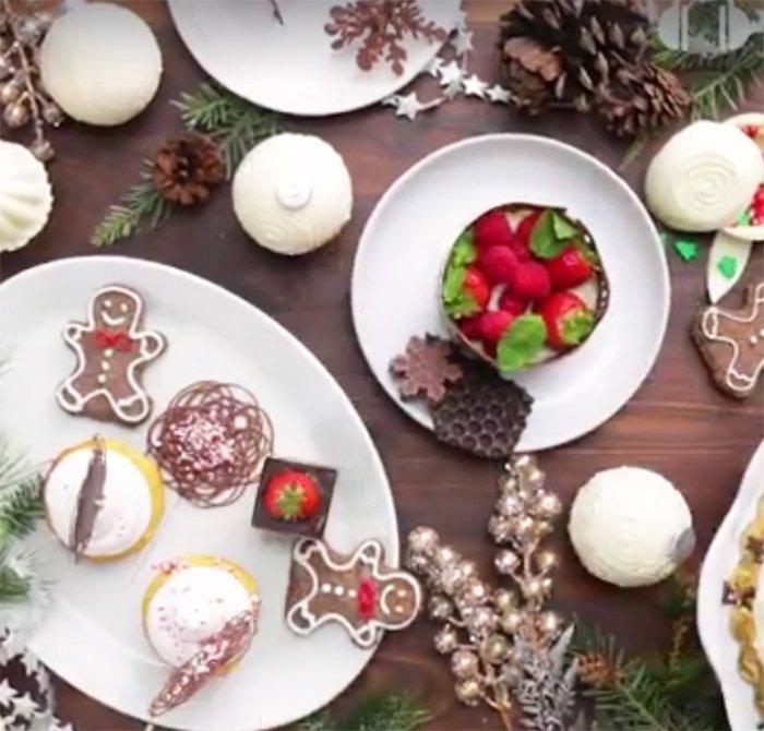 шоколадные украшения для торта своими руками