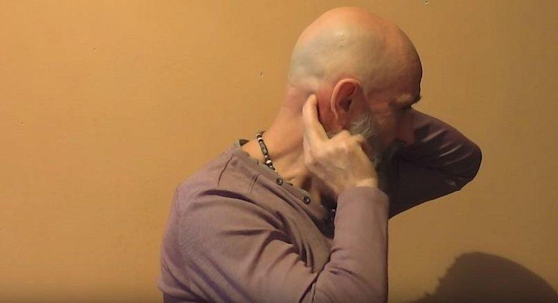 массаж шеи техника