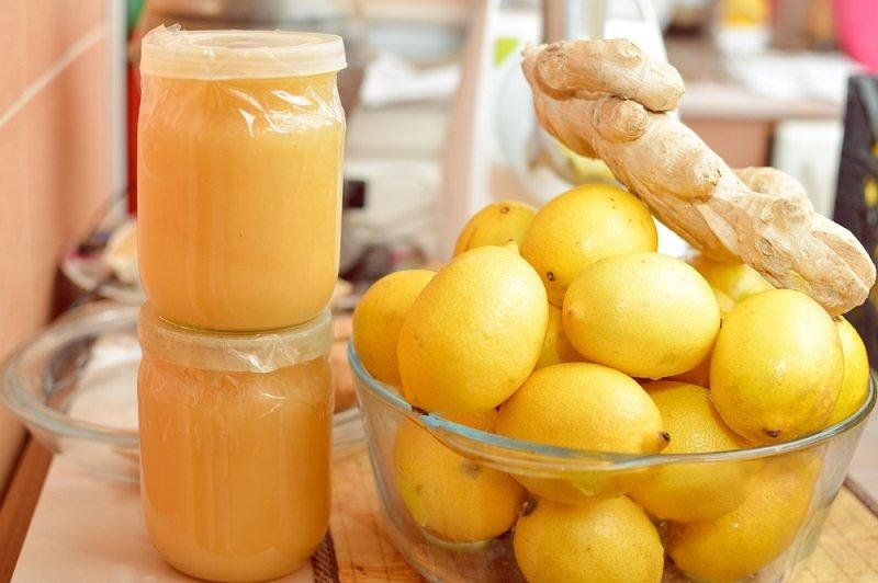 мёд и имбирь