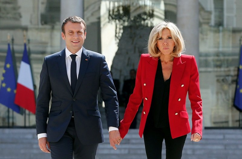 Why The President Of France Has An Old Wife Young Macron And His Elderly Wife Six Facts About The New French President Spouse