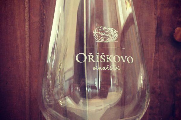 Oriskovo vinarstvi pohar