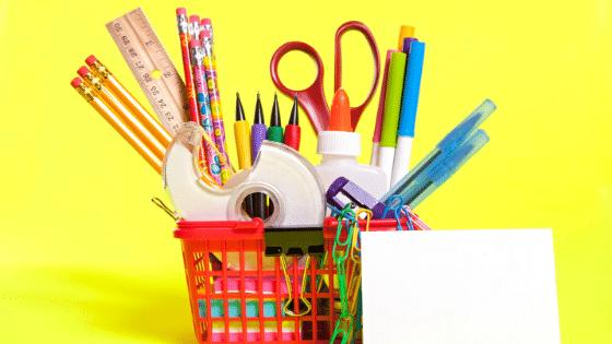 back-to-school basket