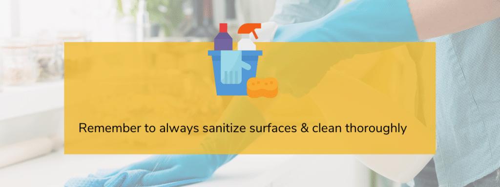 sanitizing practices