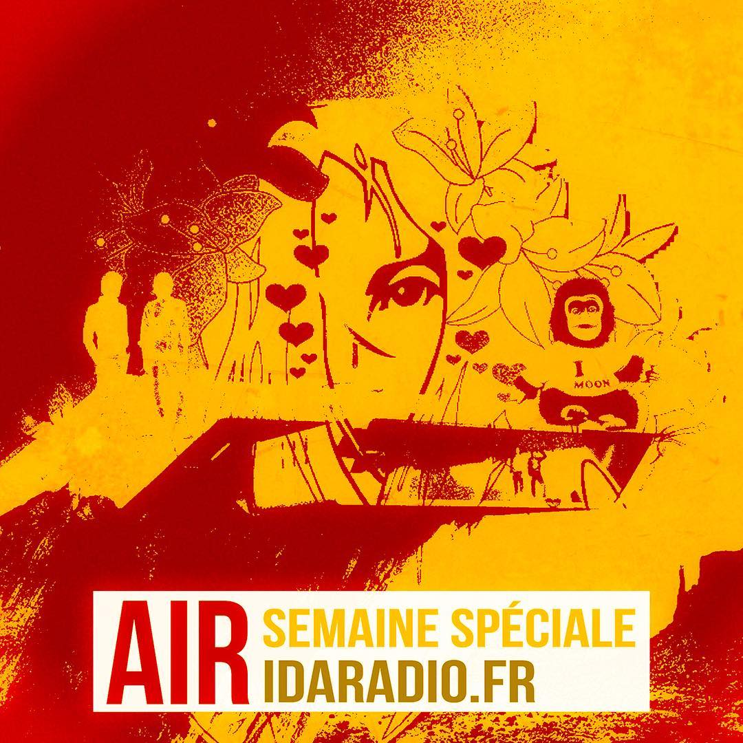 Air Special Week Now on https://idaradio.fr @nicolasgodinmusic @aircheology @jbdunckel