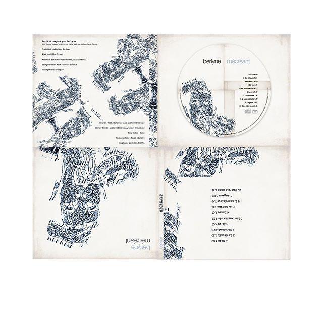 Digipack / Pochette pour le sombre et poétique @berlyne_official à paraître cet automne.