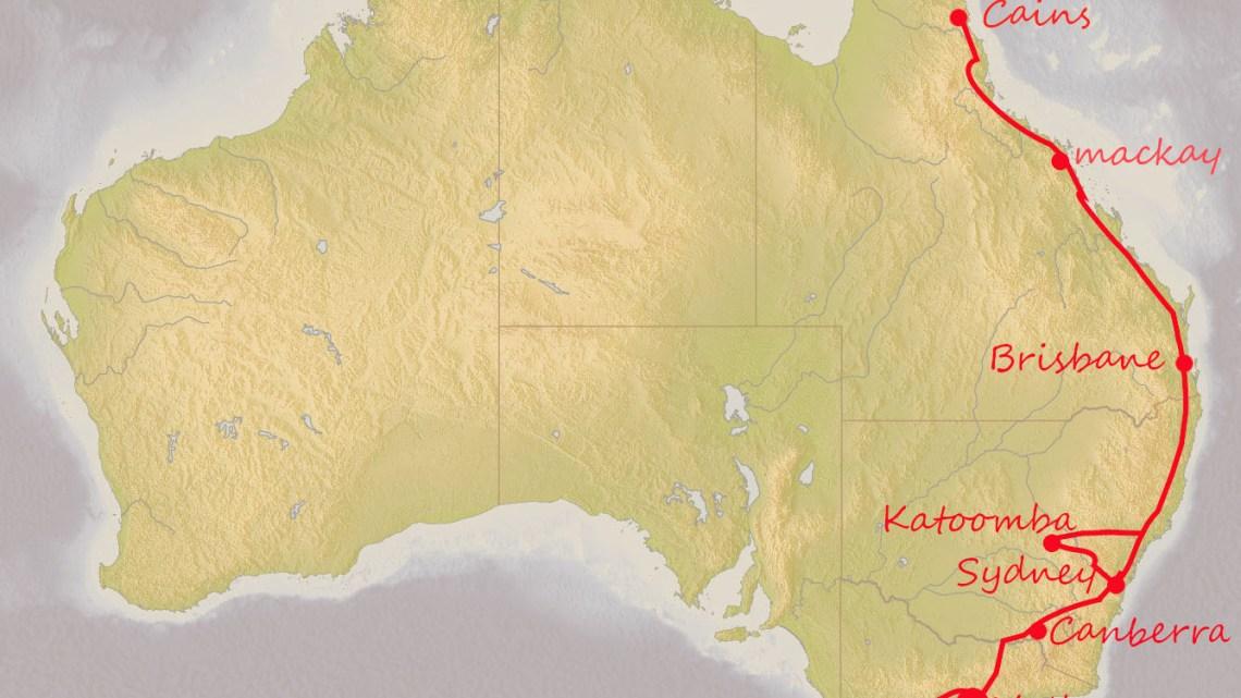【オーストラリアハーフラウンド 33, 34日目 レンタカーでメルボルンからグレートオーシャンロードまでドライブ】