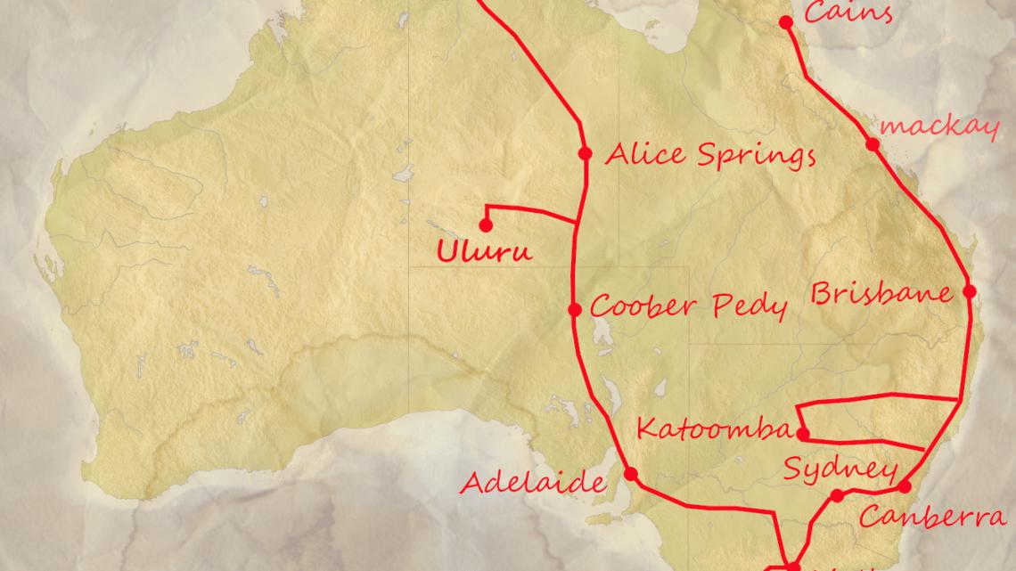 【オーストラリアハーフラウンド 54日目 最終目的地・ダーウィン到着】