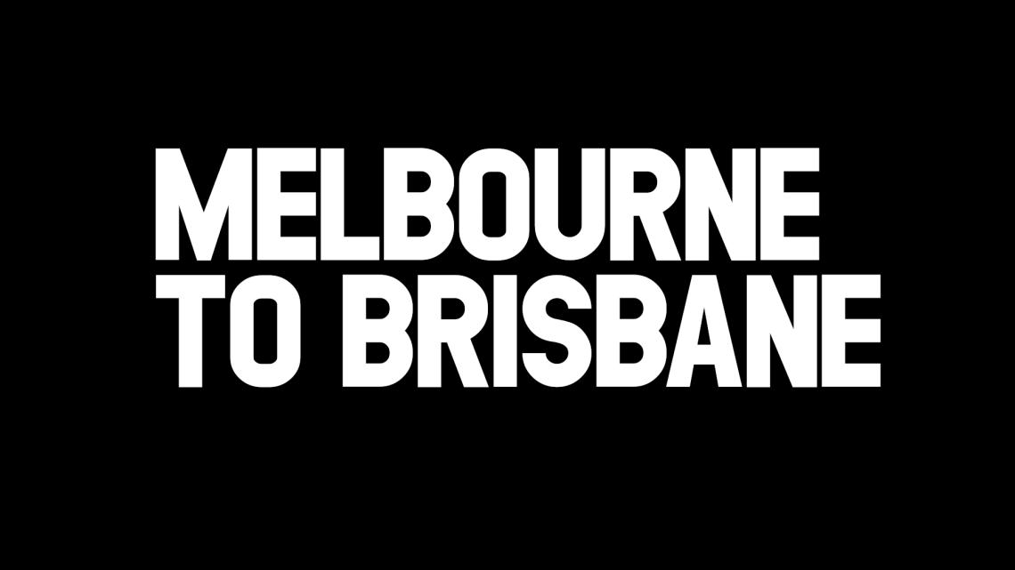 メルボルン-ブリスベン トレーラー25秒版 #JustRideAustralia