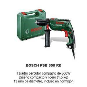 taladro percutor Bosch PSB 500 RE
