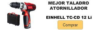 Comprar mejor taladro atornillador Einhell TC-CD 12 Li