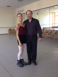 After duet exam with Gusev Tala Lee-Turton Bolshoi Ballet Academy
