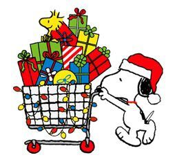 snoopy-christmas-shopping