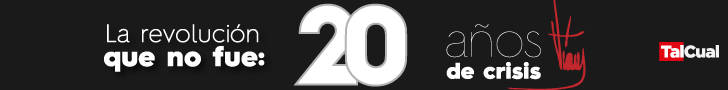 Banner 20 años de Chávez