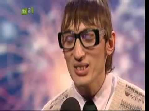 Britains Got Talent 2009 – Eugene The Librarian {Poetry Act}