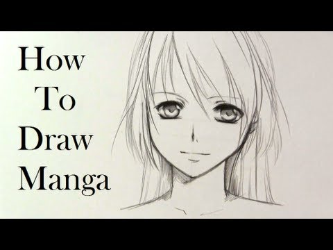 How to draw a Manga girl—slow tutorial