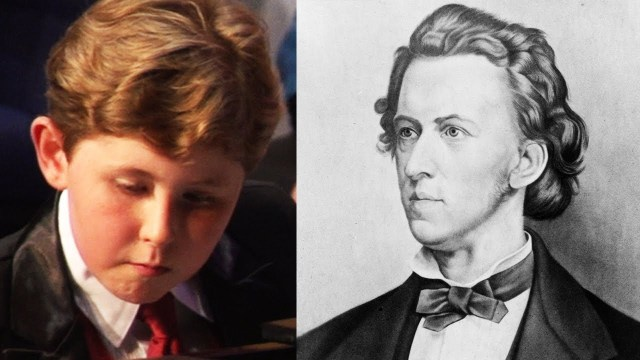 9-Yr-Old Prodigy takes on Chopin