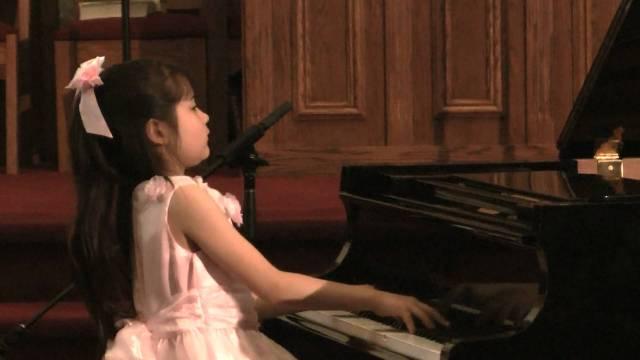 Umi Garrett (age 9) — Chopin Fantasy-Impromptu