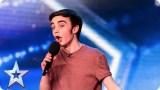 Young singer Daniel Chettoe has a big surprise for the Judges | Britain's Got Talent 2015