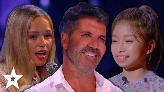 ALL GROWN UP | When KIDS Come Back On Britain, America's Got Talent