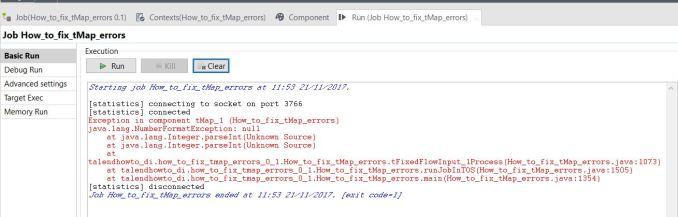 Fix tMap error - Output_Error