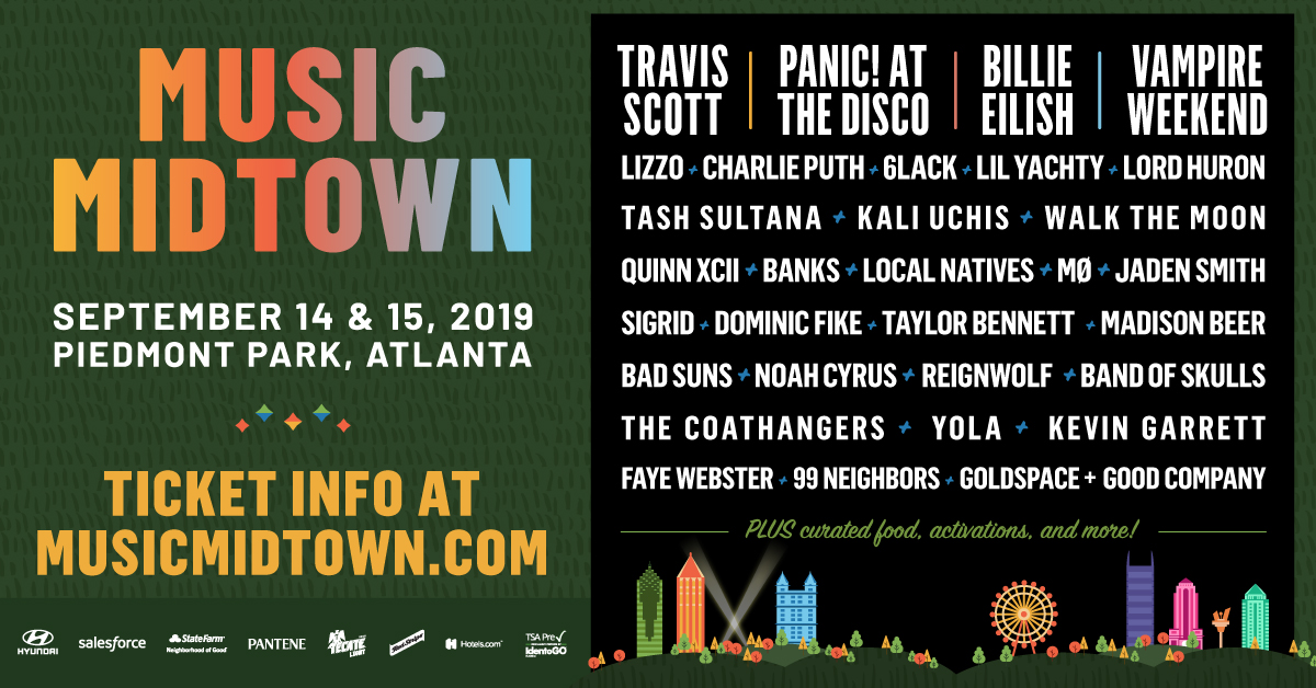 Atlanta's Music Midtown lineup announced