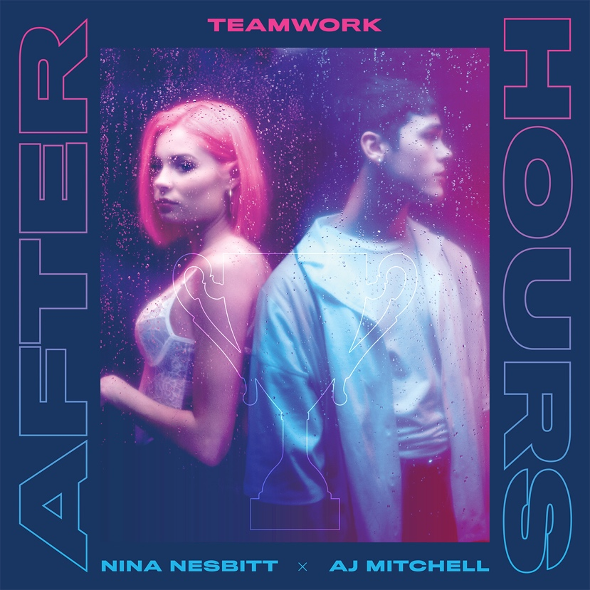 Nina Nesbitt and AJ Mitchell