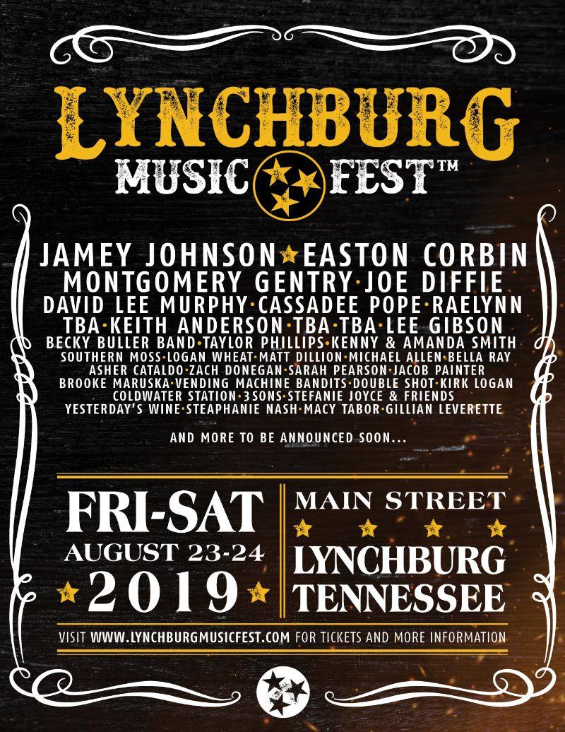Lynchburg Music Fest announces headline artists - Talent In
