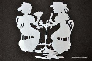 Decorațiuni cu filigran în alb și negru - editura Casa, Idei creative 29