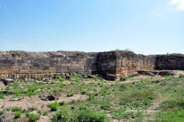 Histria. Muzeu. Cetate. Incinta romano-bizantina.