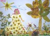 Colaj din frunze de toamna