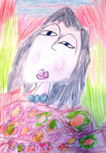 Zâna primăvara - desen