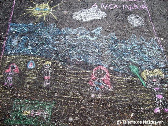 Desene de asfalt