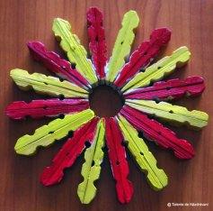 Sergiu E., Constanţa O floare cu petale divers colorate.