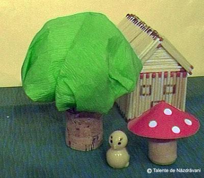 Ciupercă din dop de plută