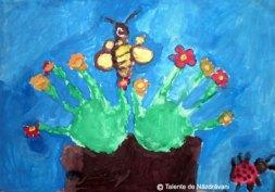 Pictura după amprenta mâinii