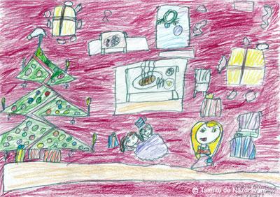 Lidia Andreea P., Fetesti, clasa I Si din sacul fermecat Parte buna sa le faci si copiilor saraci, Piine sa le pui pe masa, bucuria da-le-o in casa.