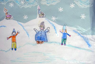 Peisaj de iarnă după versuri