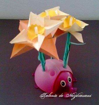 Lalele - flori origami