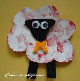 Oiță - decorațiune de Paști
