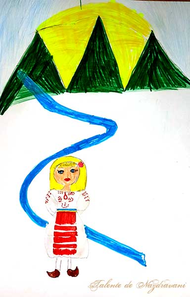 Alexia N., București, clasa a IV-a