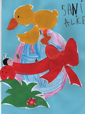 Alice Gabriela Alexandra, 5 ani