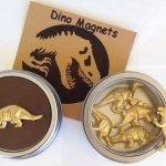 Talented Girls cadeaux de noel dinosaures magnets
