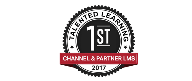 LMS Awards 2017 - Best Channel and Partner Learning Management System - Talented Learning