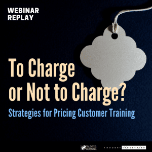 FREE WEBINAR: Strategies for Pricing Customer Education - September 19, 2018