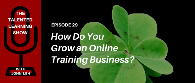 How do you grow an online training business? Learn from the CEO of DataCamp in this episode of The Talented Learning Show podcast with learning tech analyst, John Leh!