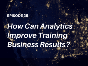 How does advanced reporting help improve training business results? Listen to this episode of The Talented Learning Show Podcast - with learning tech analyst John Leh and entrepreneur Tamer Ali