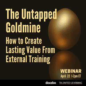 Join our live April webinar - Tapping into the extended enterprise goldmine